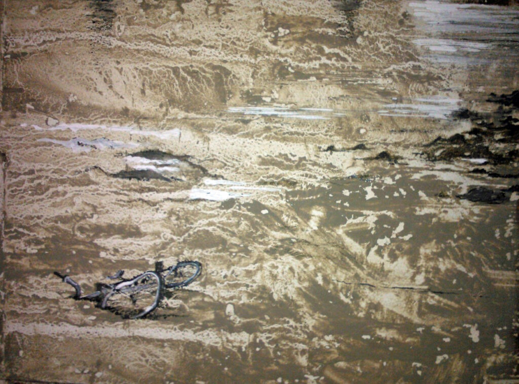 Bike in Tidal Mud