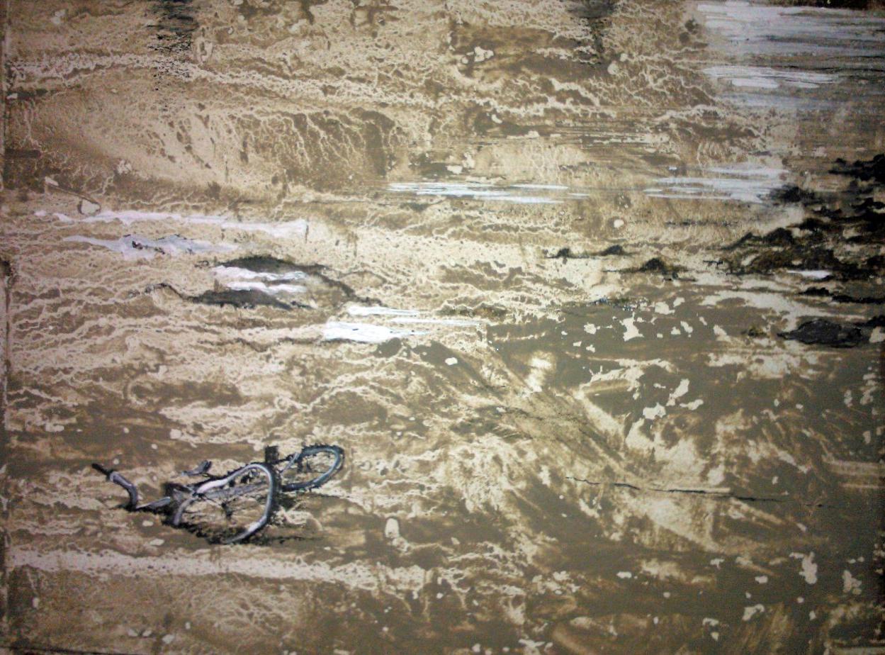 Bike in Tidal Mud